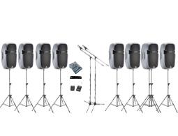 Conference pa sound rental