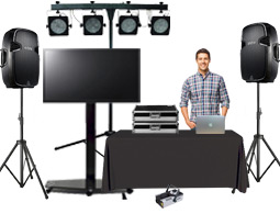 Our corporate karaoke unit is perfect for all karaoke functions