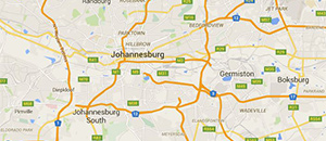 Delivery in Johannesburg