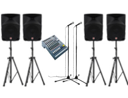 Rent a medium PA system for your function