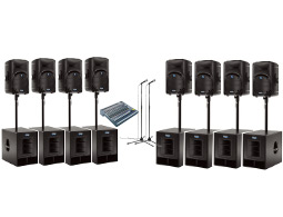 Rent a large PA system up to 1000 guests