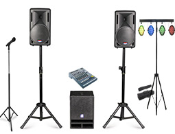 Wedding Sound System Rental